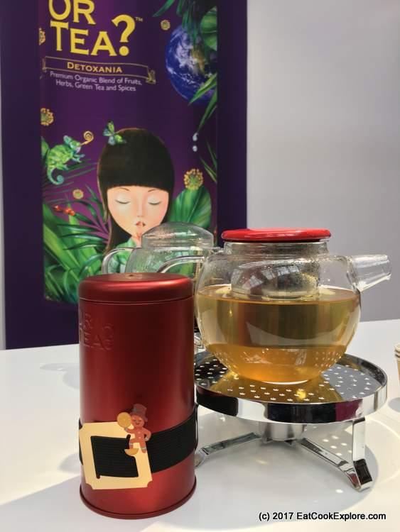 Cute packaging, Christmas tea by Or Tea