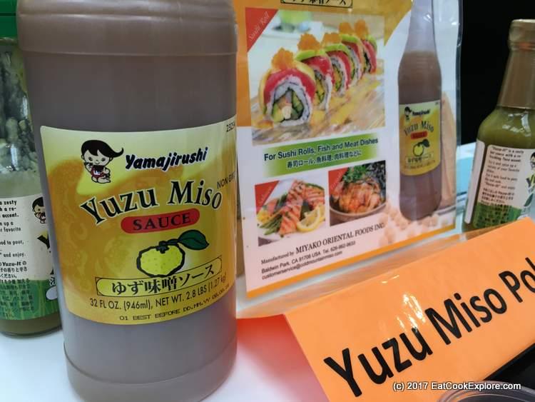 Yuzu miso sauce