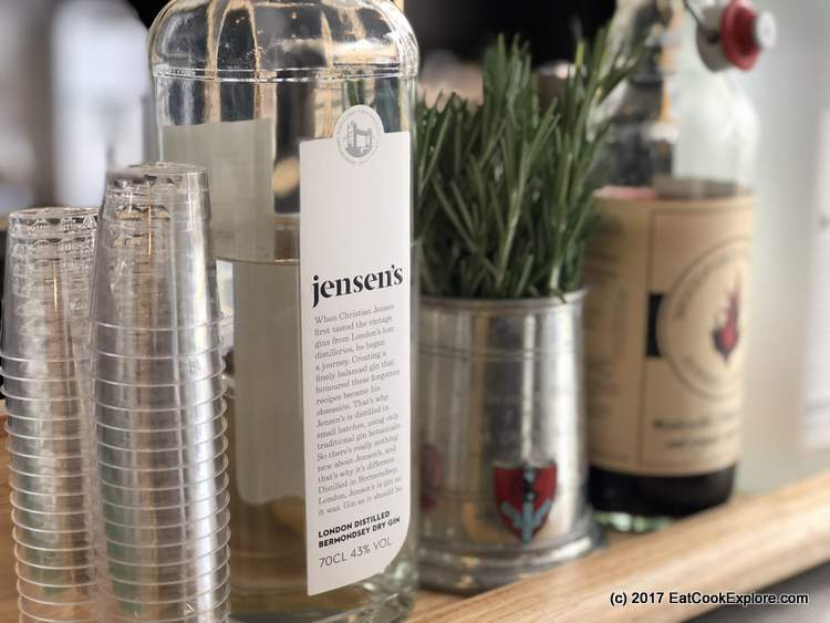 Jensen's Gin Maltby Street Market