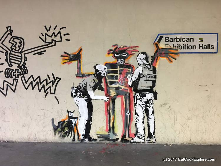 My Sunday Photo: Banksy in Barbican