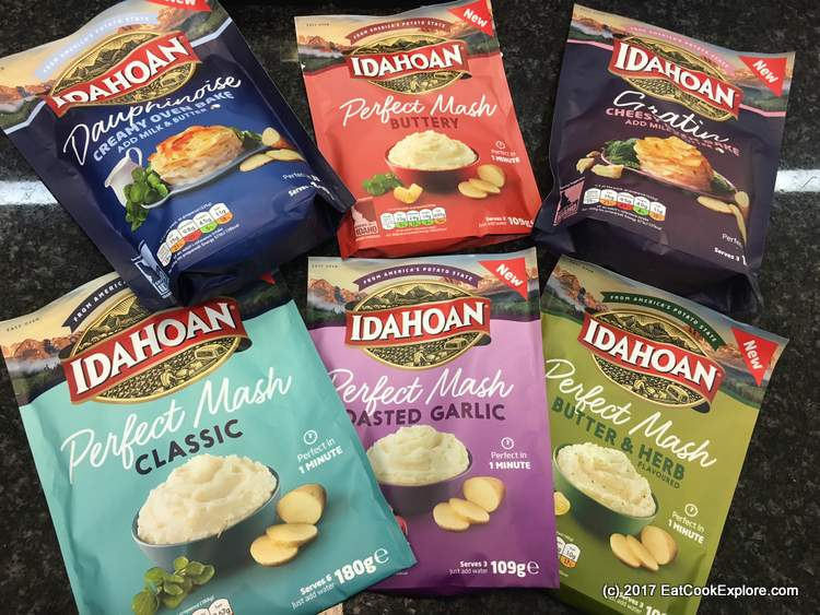 Idahoan range of products