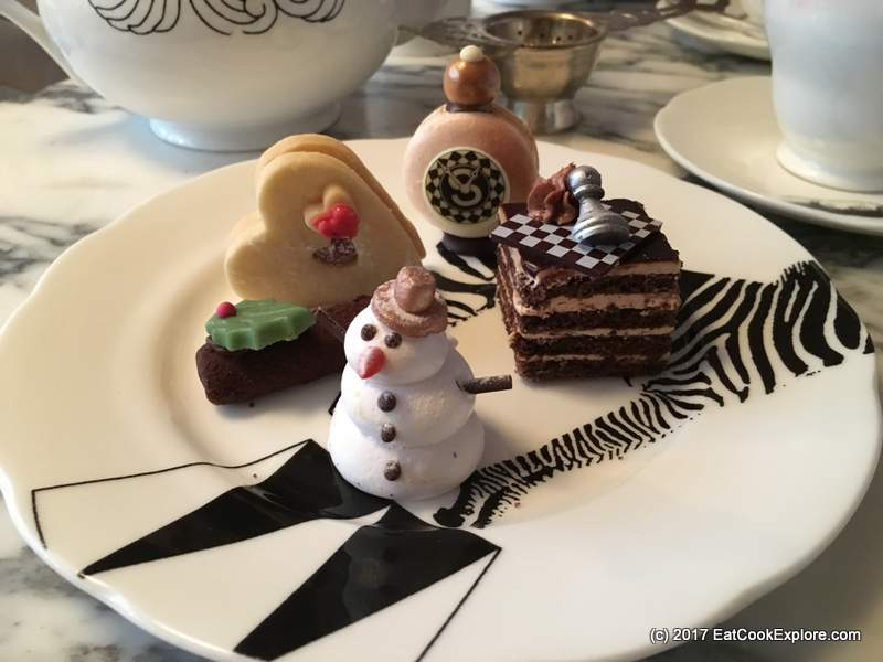 The Mad Hatters Festive Afternoon Tea at The Sanderson