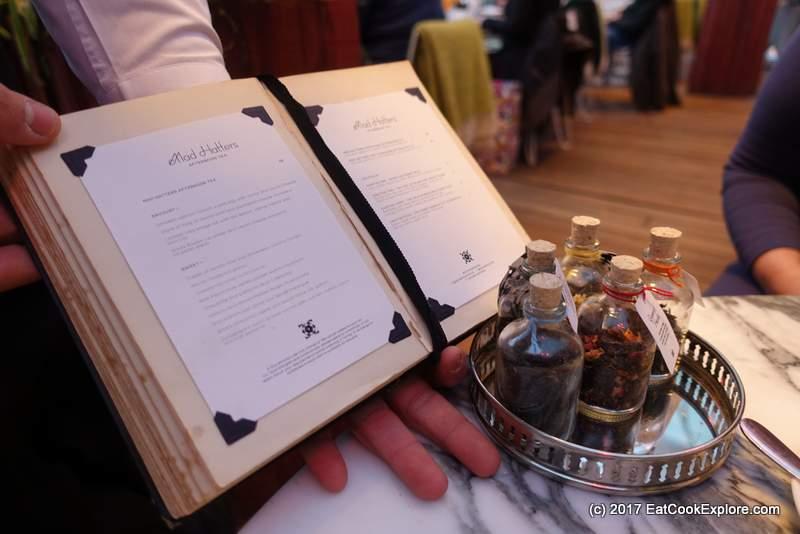 Mad Hatters Afternoon Tea Sanderson Hotel