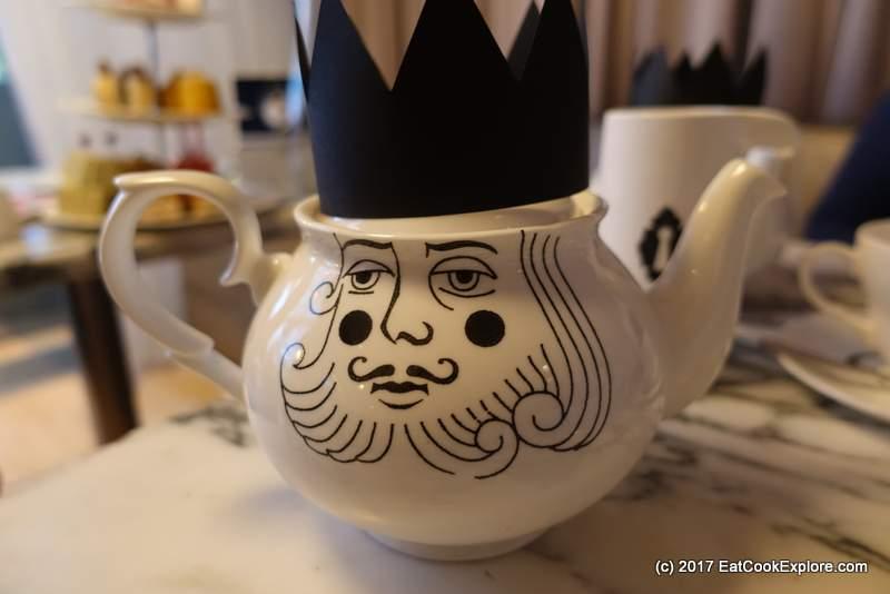 The King of Hearts Tea Pot