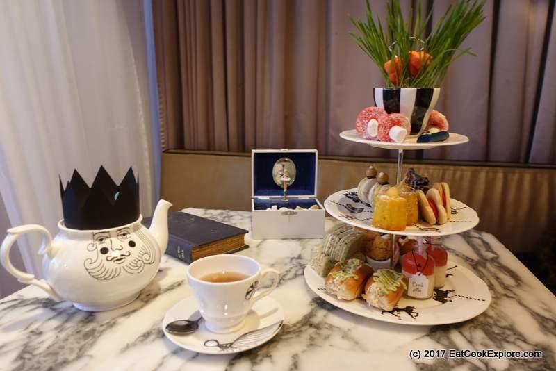 Mad Hatter's Afternoon Tea Sanderson Hotel