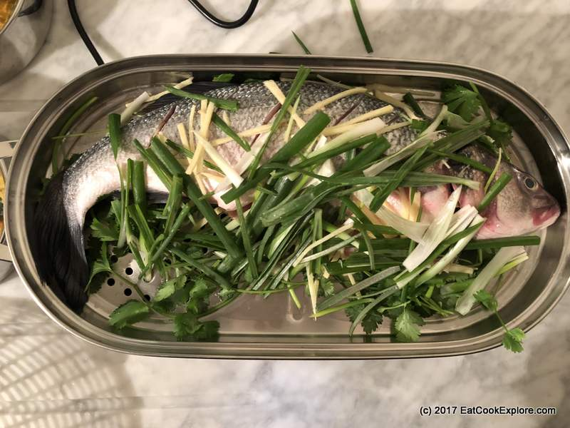 Sage The Steam Zone Steamed Whole Sea Bass