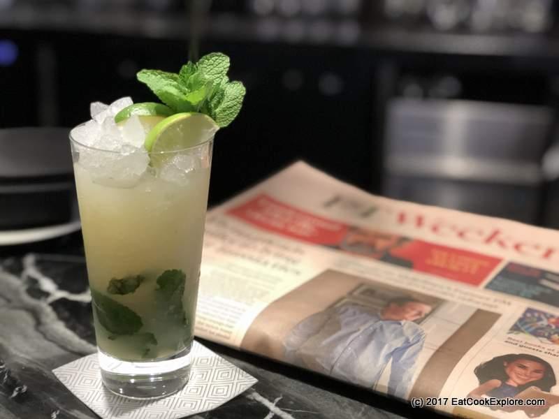 Cocktails at Devonshire Club