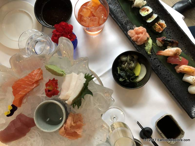 Sushi In The City with Devonshire Club