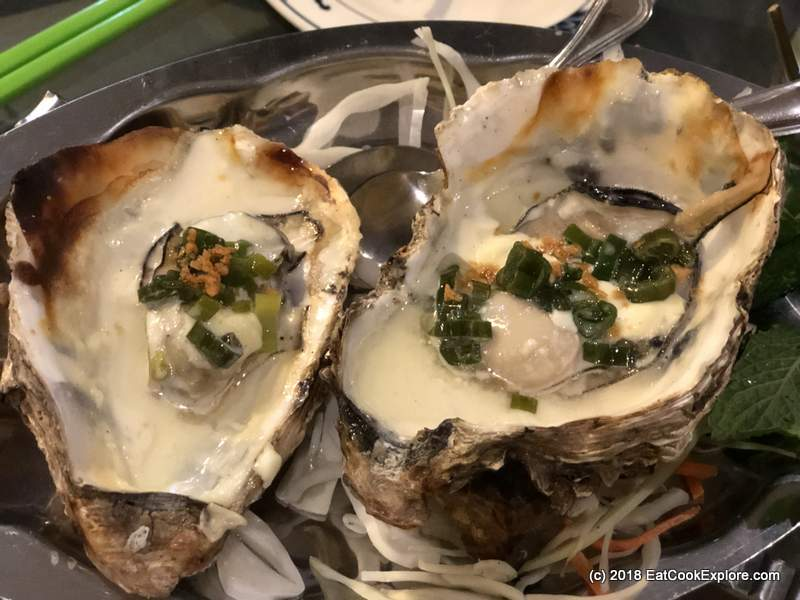 mrs les Grilled Oysters