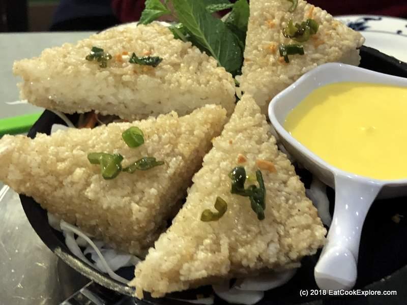 Crispy Sticky Rice Cakes