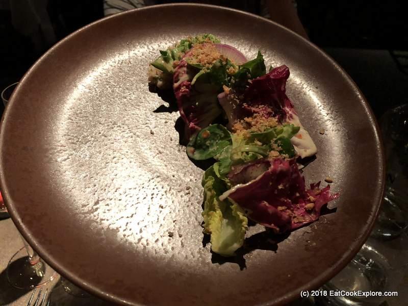 Patara Thai Royal Style Salad with Blue Swimmer Crab