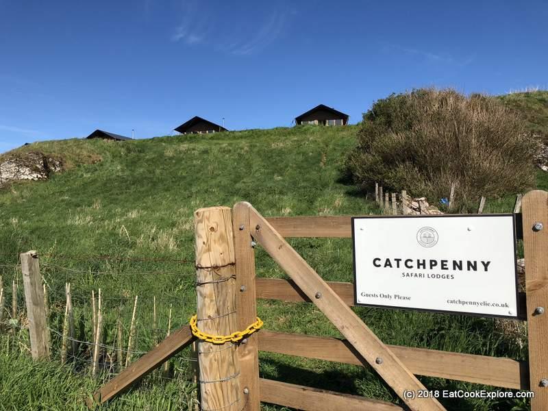 Catchpenny safari lodges Elie Walk the Fife Coastal Path