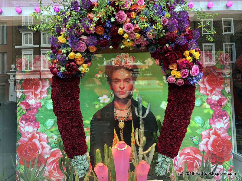 Frida's Belgravia #BelgravieInBloom