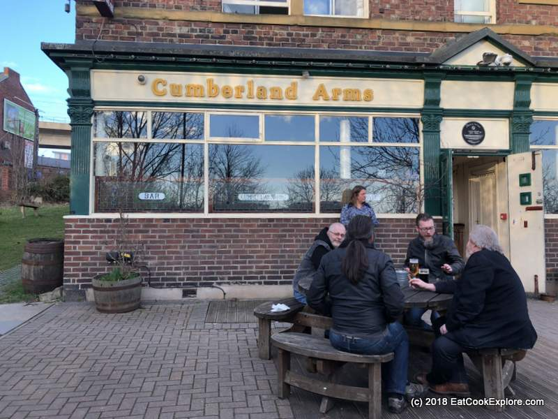 Newcastle Gateshead Beer Walking Tour of Ouseburn Cumberland Arms