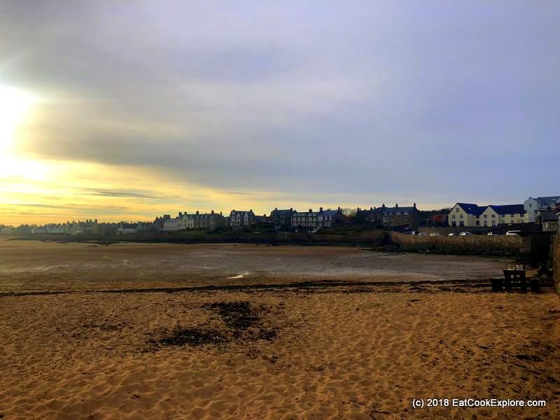 Elie Beach Fife Cricket on the beach