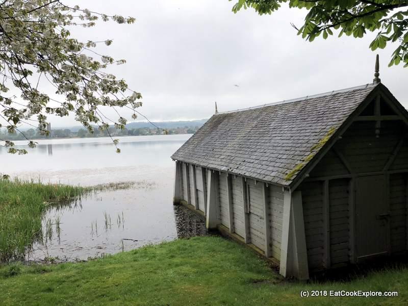 The Boathouse at Kilconquhar Loch