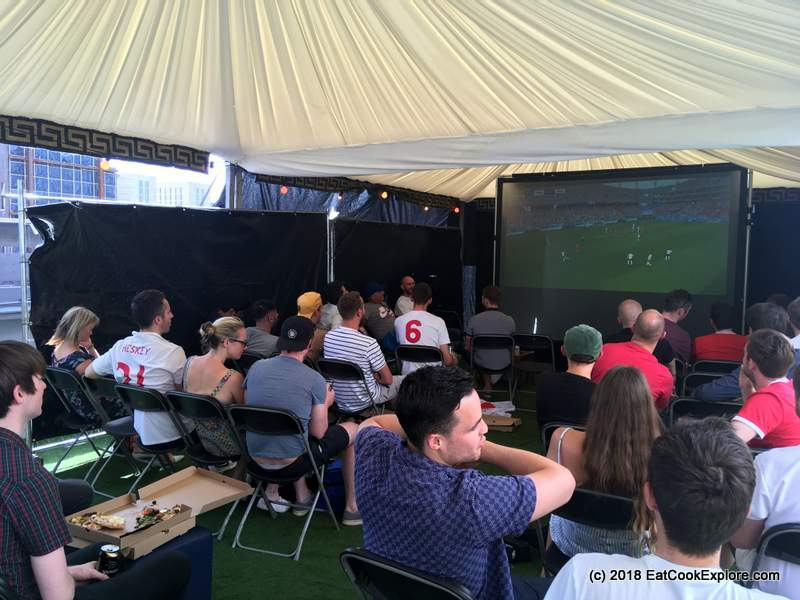 Football Fever at Fat Ronaldo's World Cup Pop-up