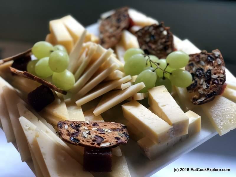 Cheese board Hispania restaurant