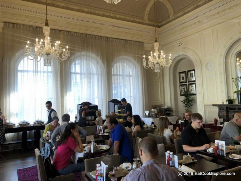 Amba Hotel Charing Cross Breakfast