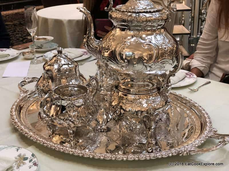 Silver Tea set from the London Silver Vaults