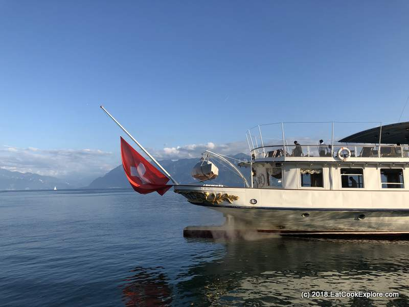 Lausanne Belle Epoque Steam Boat Sunset Cruise