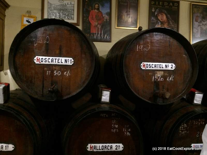 wine casks at Antigua Casa de Guardia (1)