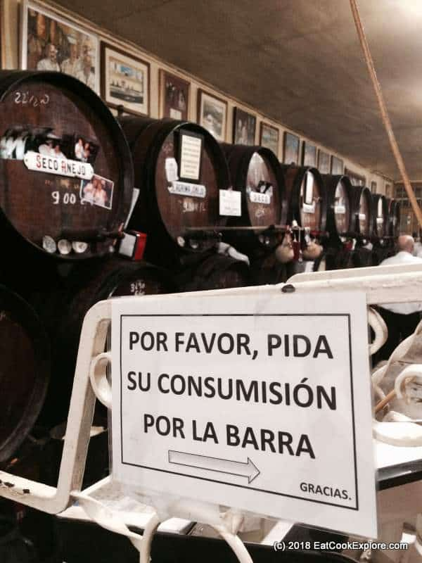 wine casks at Antigua Casa de Guardia (2)