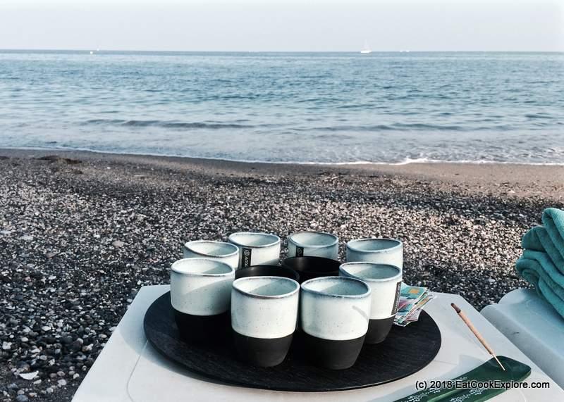 Yoga Mindfulness On the beach