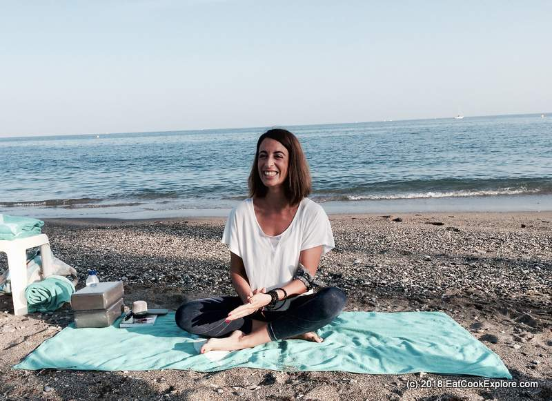 Yoga Mindfulness On the beach