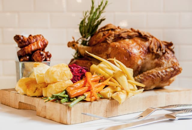 Princess Victoria roast-turkey