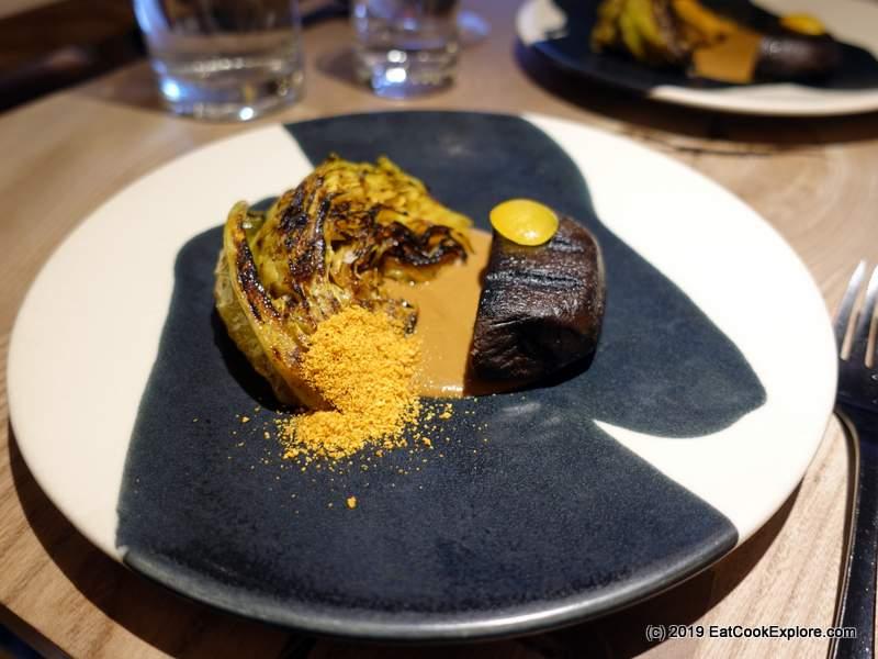 Ikoyi London Malted Barley, Chanterelle and Groundnut