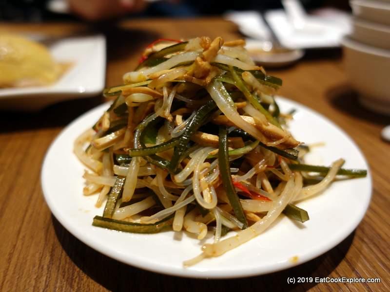 Din Tai Fung London Kelp salad