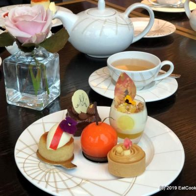 Spring Afternoon Tea with Sophie Faldo and Laurent Perrier at the Intercontinental Hotel O2