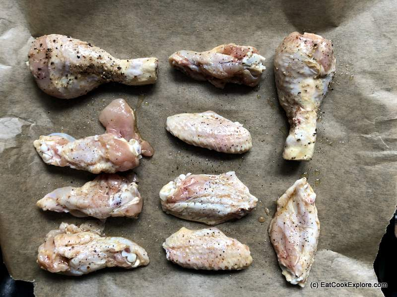Oven Baked Honey Garlic Chicken Wings (27)