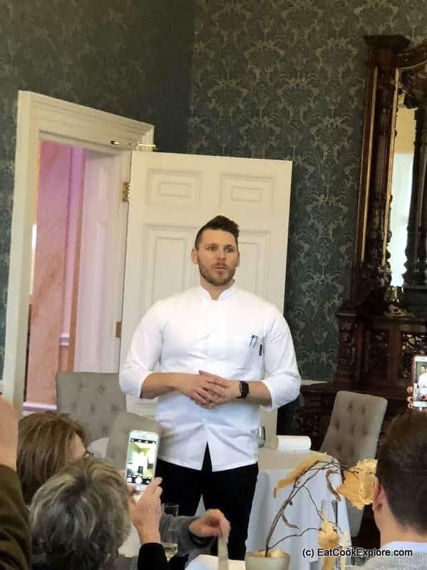 Interlude Restaurant Chef Jean Delport