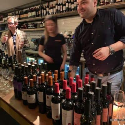 Celebrating London Wine Week at The Real Greek Soho