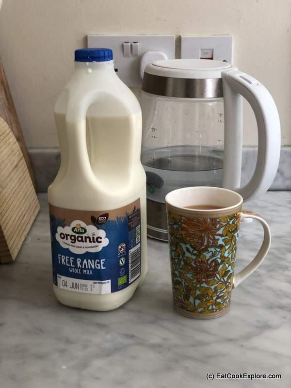 Arla Organic Eco Cycle milk bottles