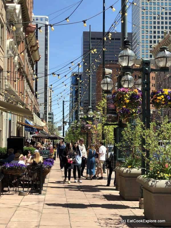 Historic Larimer Square Denver