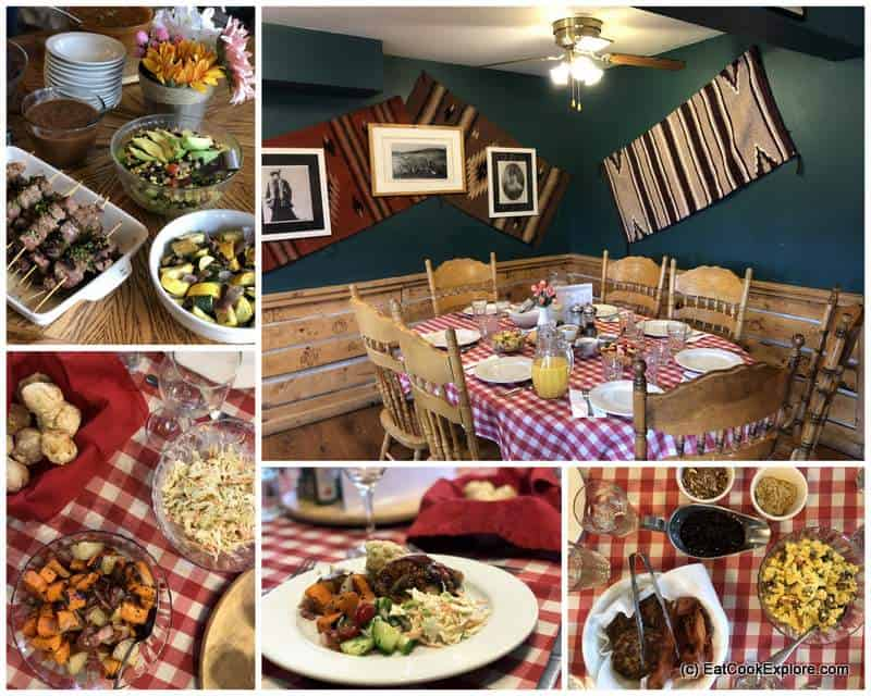 Home cooked Food Sundance Trail Dude Ranch Colorado