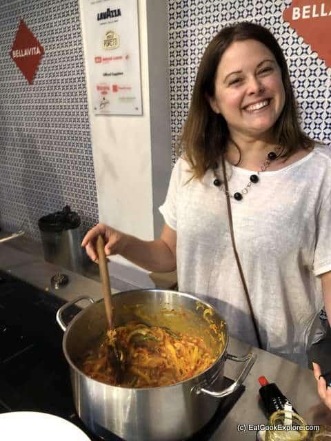 South African Township food - making chakalaka