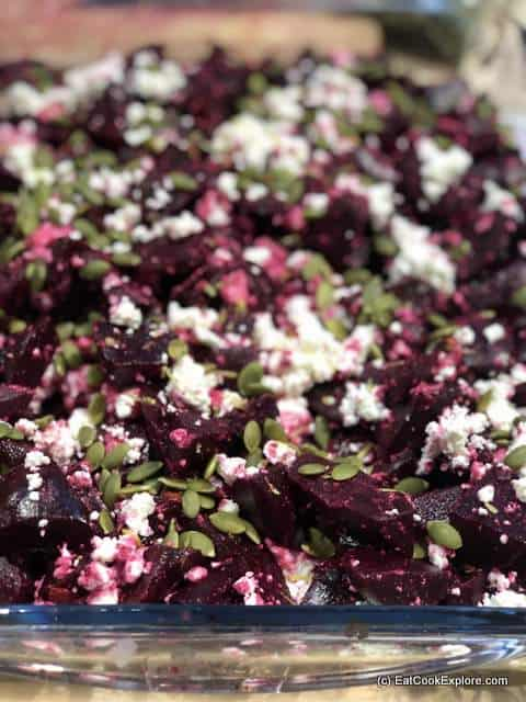 beetroot salad South African Township