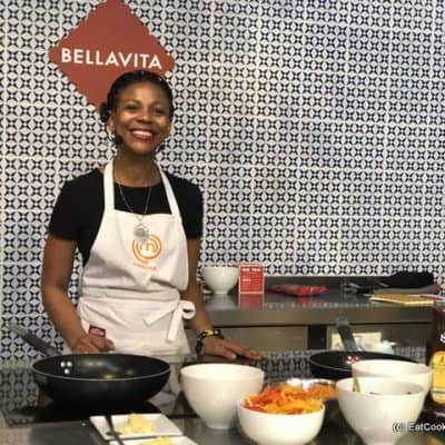 Abigail Mbola South African Chef