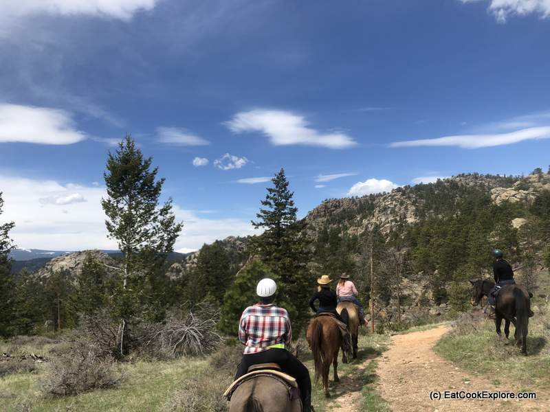 Horse Riding Adventures at Sundance Trail Dude Ranch