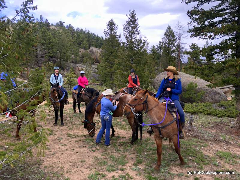 Horse Riding Adventures at Sundance Trail Dude Ranch Colorado