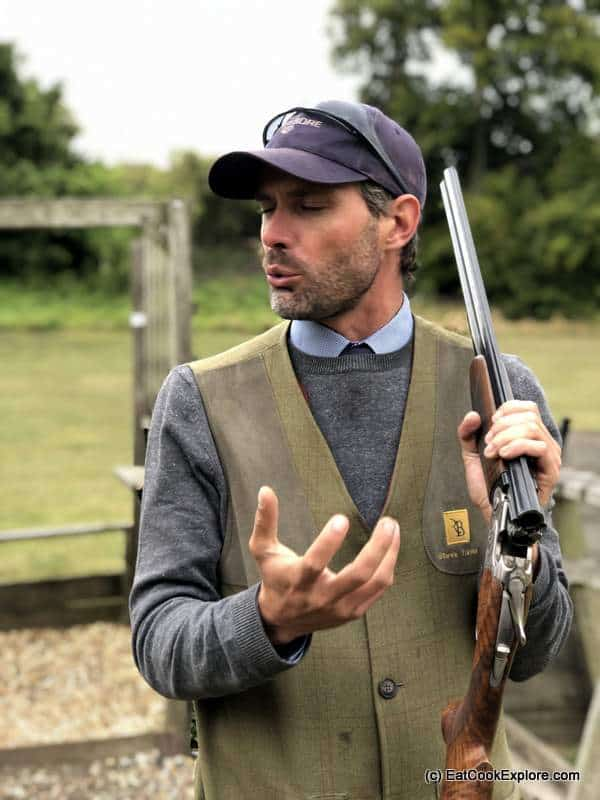 Steve shooting instruction Eat Game Awards Royal Berkshire Shooting School