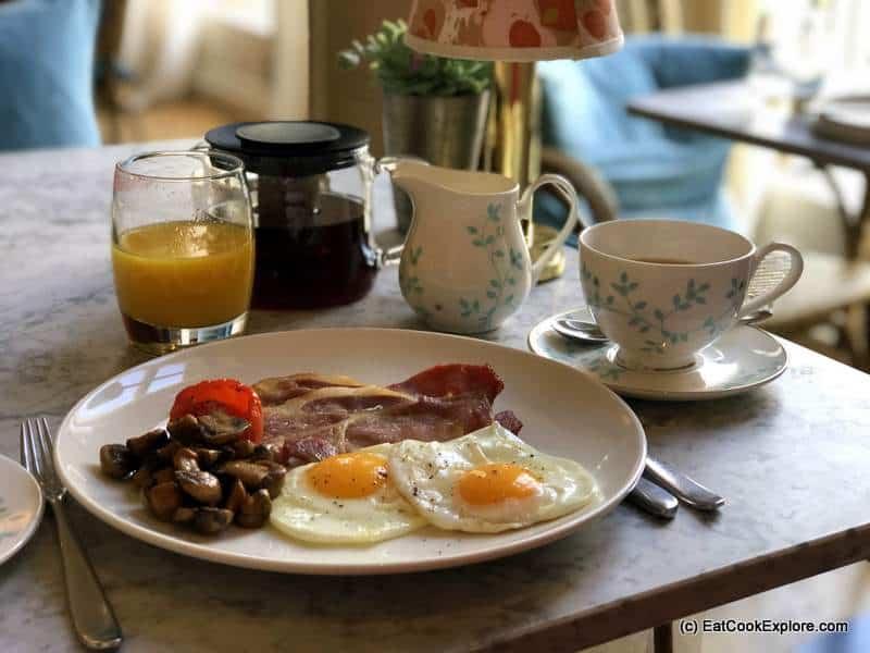 Bingham Riverhouse Breakfast