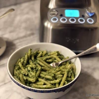 Review Sage Super Q Blender Make pesto in minutes