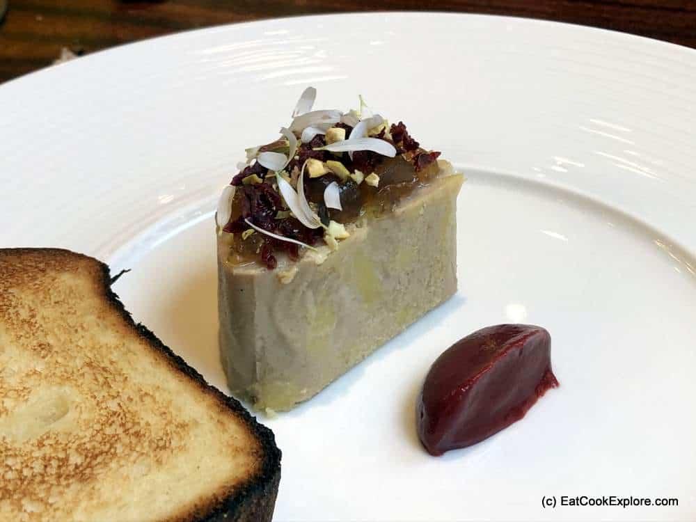 The Restaurant at the Capital Hotel Knightsbridge Foie Gras