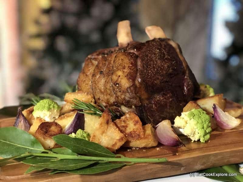 Tesco Christmas Rib of Beef