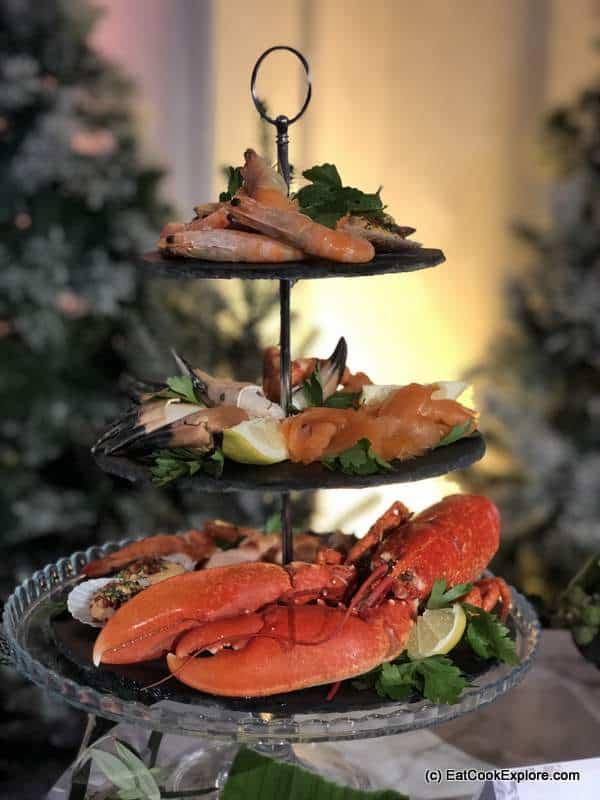 Tesco Seafood tier